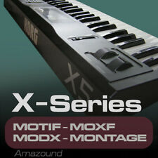 KORG X5 SAMPLES for MOTIF ES XS XF MOXF MODX MONTAGE KEYMAPS READY TO PLAY