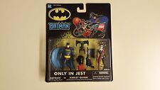 Original Hasbro Batman Only In Jest Batman Vs. Harley Quinn Action Figures
