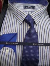 Striped Cufflink Cuff Formal Shirts for Men