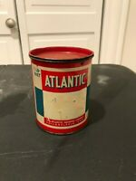 VINTAGE ORIGINAL ATLANTIC 1LB CAN ENGINE GREASE