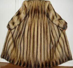 Revillon,PARIS NY Sable Fitch Fur Coat Size 4-6 FREE SHIPPING Excellent Conditio