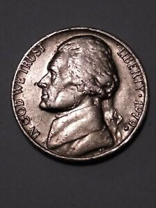 1979 nickel  5 cents USA  nice condition