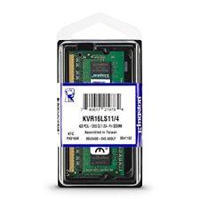 Kingston 4Gb SO-DDR3L (1.35V) 1600Mhz PC3-12800 (1 x 4Gb) - KVR16LS11/4