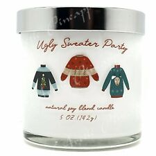 Scentsational Natural Soy 5oz Single Wick Ugly Sweater Party Candle - Fireside