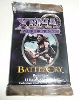 Xena Warrior Princess Battle Cry Booster Card Pack TCG Trading Card Game 1998