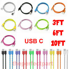 USB C Cable Type C Fast Charger For OEM Samsung Galaxy S8 S9 S10 Plus Note 8 10