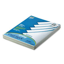 Pacon Array Card Stock 65 lb. Letter White 100 Sheets/Pack 101188