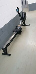 Fully Serviced Concept 2 model C With New PM5 Monitor Rowing Machine
