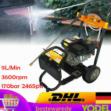 Gas Petrol Power Pressure Jet Washer 170 Bar 75hp Engine Gun Hose Nozzles Ohv