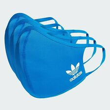 Adidas Face Mask Cover (3-Pack) 100% Authentic  Blue  Size M/L (Medium/Large)