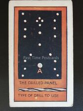 No.27 DRILLING PANEL - How to Make a Valve Amplifier by Godfrey Phillips 1924