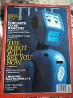 Time Magazine 4th November 2019, Health Innovation Who Gets To Be Healthy The...