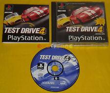 TEST DRIVE 4 Ps1 Versione Ufficiale Italiana 1ª Edizione ••••• COMPLETO