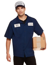 I AM THE BIG UNIT DELIVERY GUY HALLOWEEN COSPLAY COSTUME SHIRT MENS XL NEW FUNNY