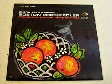 RCA LSC-2621-Fiedler/Boston Pops-Chopin/Les Sylphides-1962 US LP-SEALED!