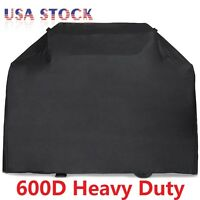 "58"" 64"" 70"" 72"" BBQ Grill Gas Barbecue Black Cover Waterproof 600D Heavy Duty"