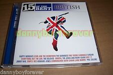 15 of the Best British Songs CD Beloved Echo & Bunnymen Jesus Mary Chain Orbital