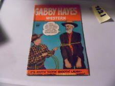 Gabby Hayes Western #4 Fawcett 1949