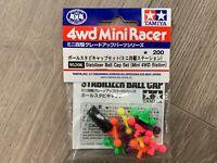 Tamiya 95206 4WD Mini Racer Stab. Ball Cap Set Mini 4wd Station + FREE SHIPPING