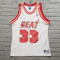 Vintage 90s Miami Heat Alonzo Mourning Jersey by Champion 44 Mint