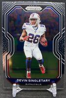 2020 Panini Prizm Devin Singletary #2 Buffalo Bills NFL Football Card