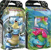 Pokemon V Battle Decks - Blastoise V and Venusaur V - PREORDER (Ships 2/5/21)