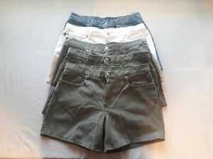 Lot of 5 Ralph Lauren Polo Womens Casual Saturday Shorts Size 14 100% Cotton