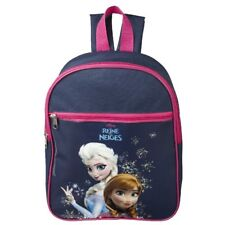DISNEY sac à dos bleu LA REINE DES NEIGES école L 24 x H 31 x P 10 cm maternelle