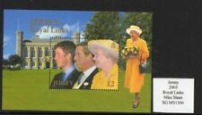Jersey 2003 Royal Links Mini Sheet S.G. MS 1106 UM