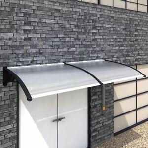 vidaXL Tettoia da Esterno in PC Trasparente 300x100 cm Pensilina per Ingresso