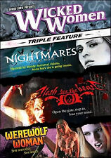 WICKED WOMEN Boxset Flesh for the Beast|Werewolf Woman|Nightmares Come at Night