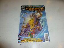 GENESIS Comic - No 2 - Date 10/1997 - DC Comics