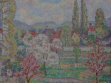 "Otto Aloys Xavier WEBER (1895-1967), 1957 ""Landschaft im Frühling"