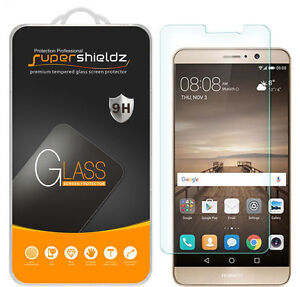 3X Supershieldz for Huawei Mate 9 Tempered Glass Screen Protector Saver