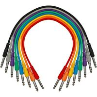 Livewire TRS-TRS Straight-Straight Patch Cable 8-Pack 17 in.