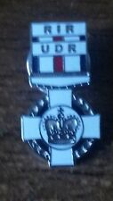 ulster defence regiment udr royal irish regiment rir british army Enamel badge