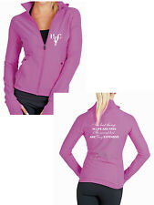 **HEELS DOWN CLOTHING** SPANDEX SPORT JACKET..BEST THINGS..ALL SIZES