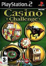 Casino Challenge PS2 (Playstation 2) - Free Postage - UK Seller