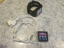 Lot of Apple iPod nano 6th Generation Graphite (16 GB) and TIK TOK WATCH