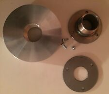 """Champion Generator 3-hole round #72 cover plate 4"""" exhaust extension (HW only)"""
