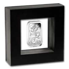 1 $ Dollar Silver Proof Rectangular Dragon Drache Australien 1 oz Silber PP 2018