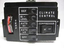 Mercedes W107 Hvac Climate Heater Air Condition Control Unit 77-80 450Sl 450Slc