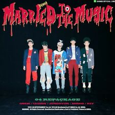 SHINEE [MARRIED TO THE MUSIC] 4th Repackage Album CD+Photobook+Card K-POP SEALED