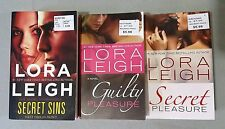 Lot of 3 Different Paranormal Romance Novels by Lori Leigh - Free Shipping