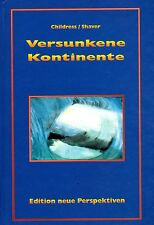 VERSUNKENE KONTINENTE - Lemuria - David Hatcher Childress BUCH - NEU