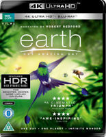 Earth - One Amazing Day Blu-Ray (2018) Peter Webber cert U 2 discs ***NEW***