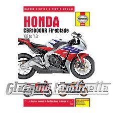 Honda CBR 1000 RR Fireblade 2010 Haynes Service Repair Manual 5688