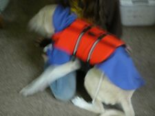Lot of Outward Hound Life Jacket & Dickens Closet poncho rain jacket puppy dog