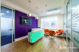 Glass Wall by KOVA Partitions