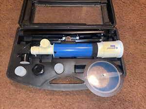 Bresser Juno AZII Refractor Telescope with Case, 50mm 88-10051 Used